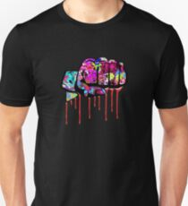 Graffiti covered fist Unisex T-Shirt