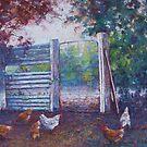 'Breakfast Peck' by Helen Miles