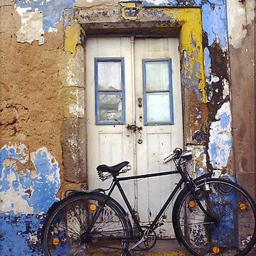 Old Bike in Portugal by tumbusch
