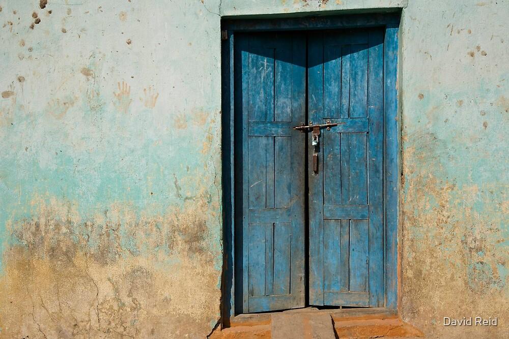 Blue Door by David Reid