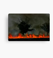Firefront Canvas Print