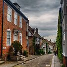 Mermaid Street in Rye by Nigel Bangert