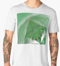 Cool shades of green. Men's Premium T-Shirt