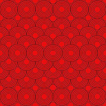 Red Circle Pattern by rizkidiyan
