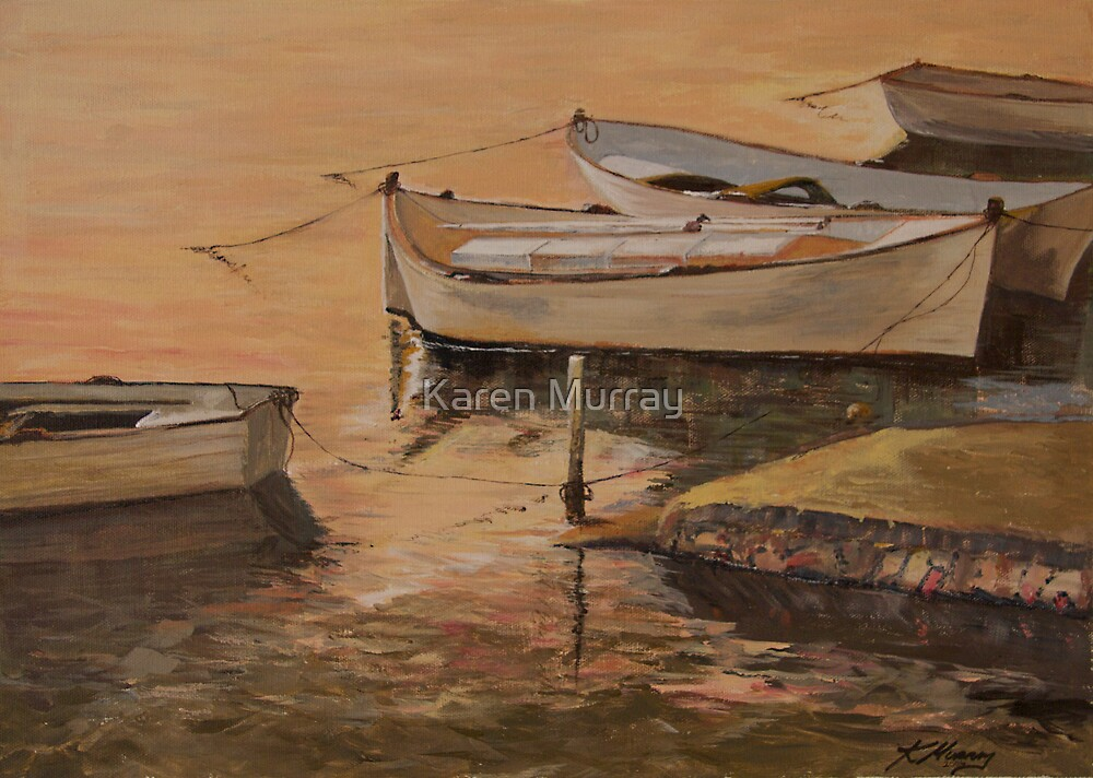 Boat for Hire by Karen Murray