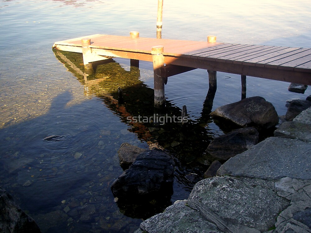 a private pier by sstarlightss