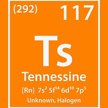 Tennessine Element by cerebrands