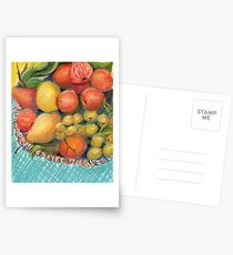 Feeling Fruitful Postcards