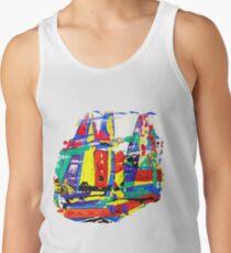 Sydney Hobart Sailboat Race Painting Tanktop für Männer