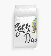 Artischocke Alien Vegan Dad Foodietoon / Veggie Superhelden Bettbezug