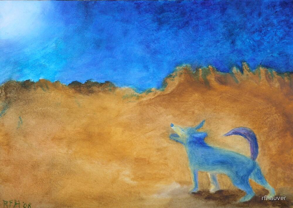 Blue Dog by rfhauver