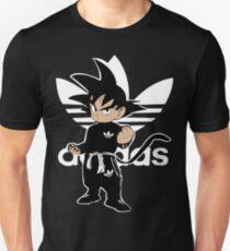Sayanadidas white goku adidbas dragon ball BDZ anime manga Unisex T-Shirt