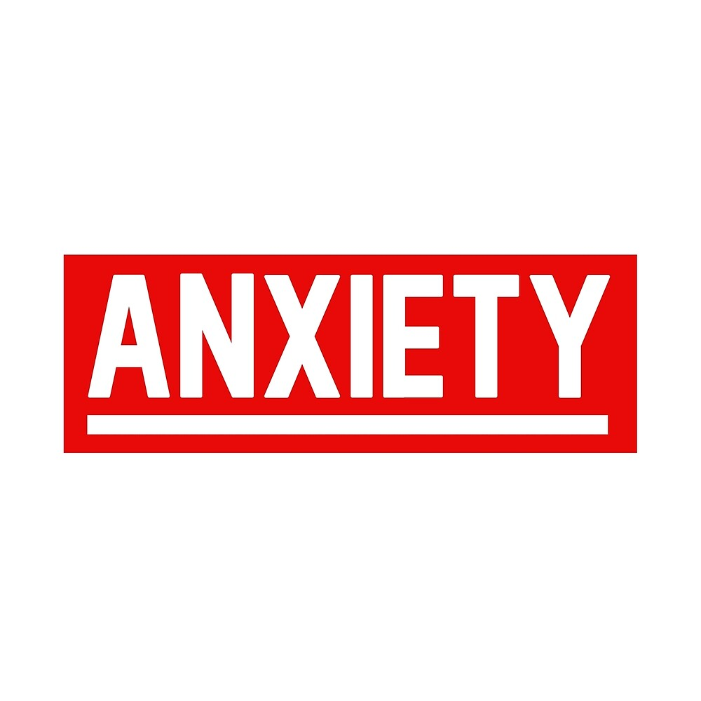 Anxiety - Box Logo - BOGO by Wave Lords United