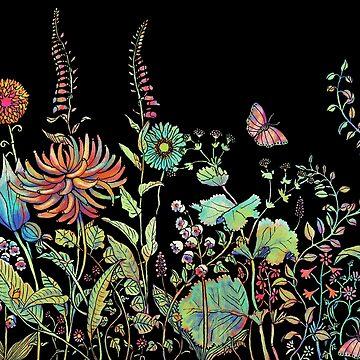 night garden by vian