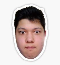 Face of Triumph Sticker