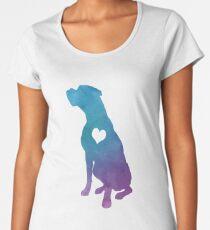 Adore Boxers Watercolor Women's Premium T-Shirt