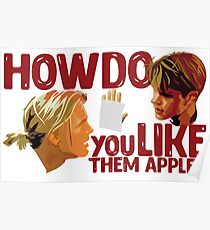 Good Will Hunting - Apple Poster