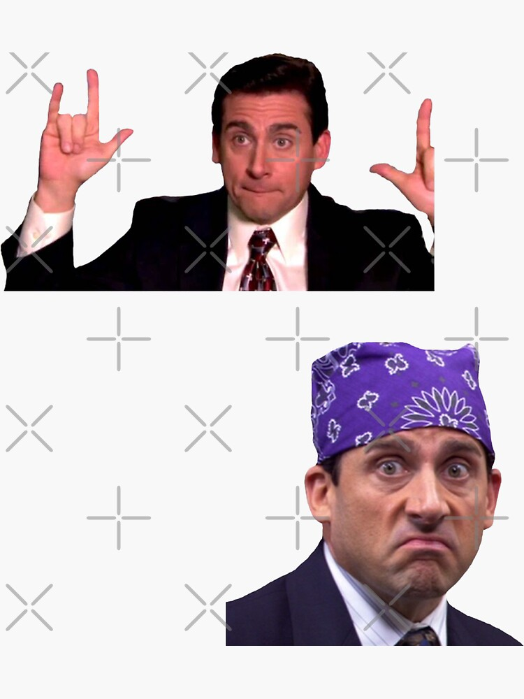 La oficina: Michael Scott Sticker Two Pack de abbyconnellyy