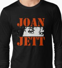JOAN JETT Long Sleeve T-Shirt