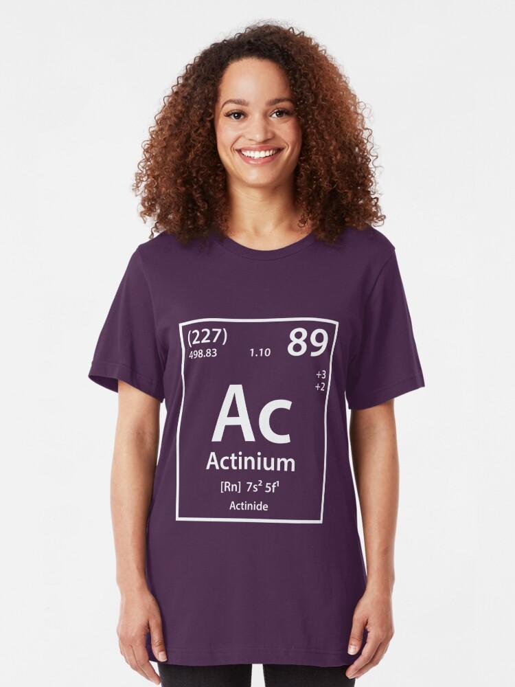 Actinium Element | Slim Fit T-Shirt