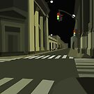 Look Down The Night Street by David Naumann