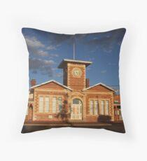 Menzies Townhall Throw Pillow