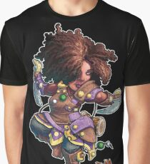 Fitzhywel's Fantastical Paraphernalia: Tiny Bard! Graphic T-Shirt