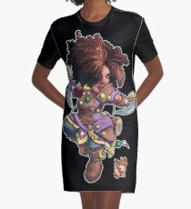 Fitzhywel's Fantastical Paraphernalia: Tiny Bard! Graphic T-Shirt Dress