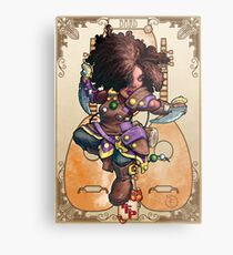 Fitzhywel's Fantastical Paraphernalia: Tiny Bard! Metal Print
