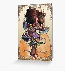 Fitzhywel's Fantastical Paraphernalia: Tiny Bard! Greeting Card