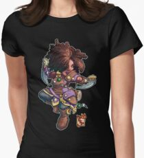 Fitzhywel's Fantastical Paraphernalia: Tiny Bard! Women's Fitted T-Shirt