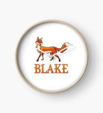 Blake Fox Clock