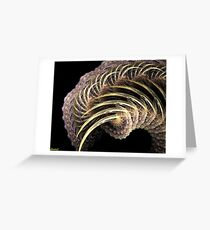 a special wave Greeting Card