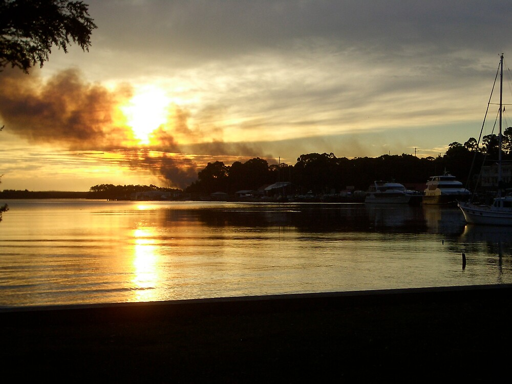 Fire @ Strahan by J-N-F