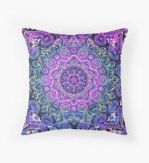 Cosmic Love Mandala Throw Pillow