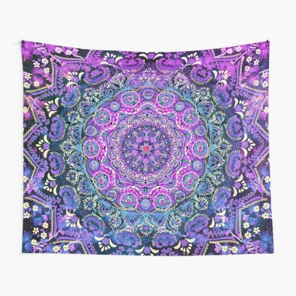 Cosmic Love Mandala Tapestry