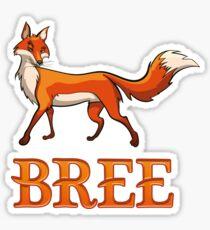 Bree Fox Sticker