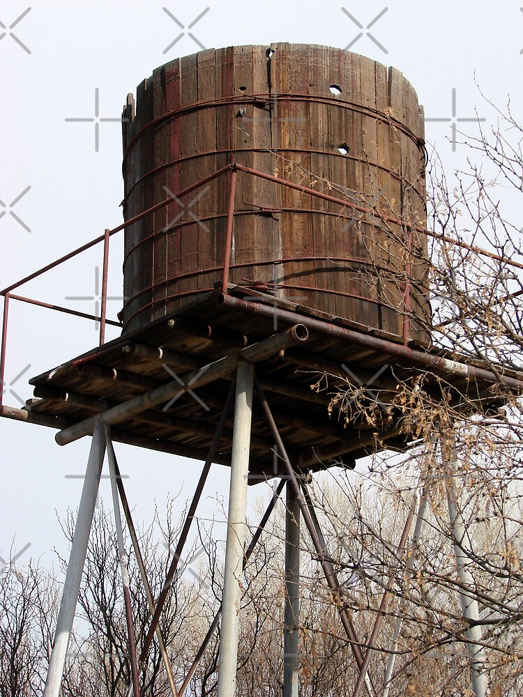 Old Water Tower by Kimberly Miller