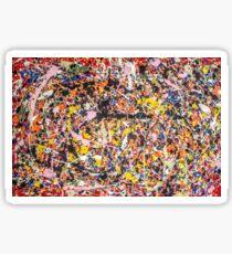 Thanks, Jackson Pollock  Sticker