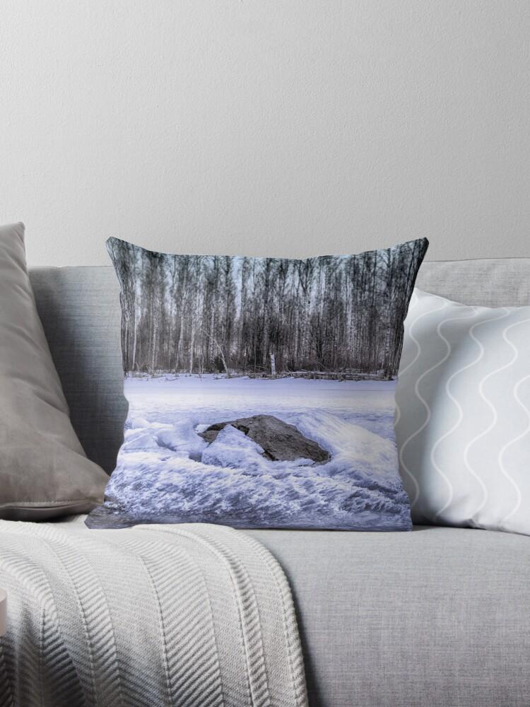 PUNCH [Throw pillows] by Matti Ollikainen