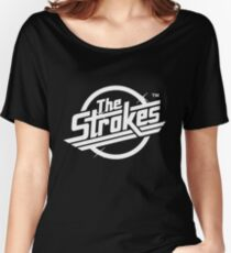 The Strokes Logo Women's Relaxed Fit T-Shirt