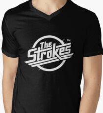 The Strokes Logo Men's V-Neck T-Shirt