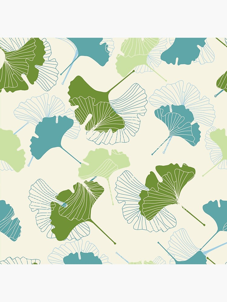 Ginkgo Leaves by MeredithWatson