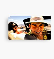 Fear and Loathing in Las Vegas - Art Canvas Print