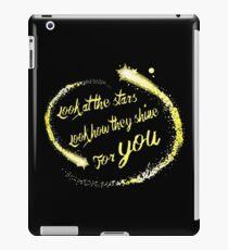 Stars Shine For You iPad Case/Skin