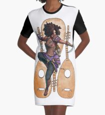 Fitzhywel's Fantastical Paraphernalia: Bard! Graphic T-Shirt Dress