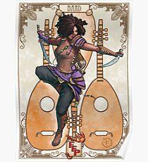 Fitzhywel's Fantastical Paraphernalia: Bard! Poster