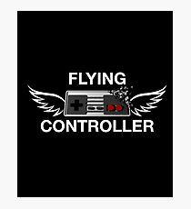 Flying Controller Photographic Print