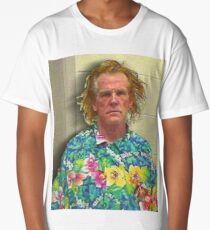 Nick Nolte Mugshot Mug Shot Painting Square Long T-Shirt