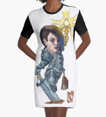 Fitzhywel's Fantastical Paraphernalia: Paladin! Graphic T-Shirt Dress